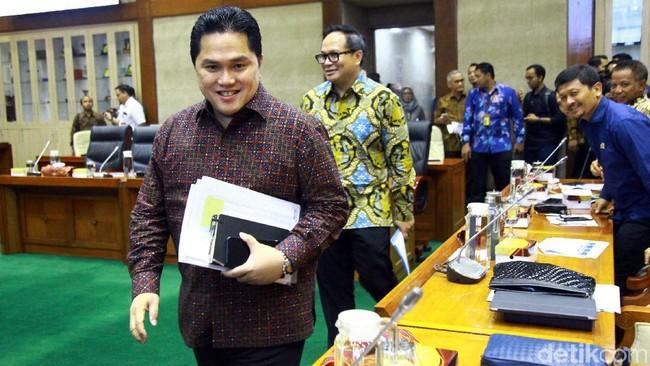 Menteri BUMN Erick Thohir/Foto: Lamhot Aritonang
