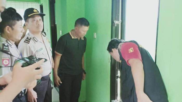 Kantor KUA Kecamatan Ngrampal Sragen Dibobol Maling. Foto: Istimewa
