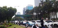 Massa Reuni 212 Mulai Bubar, Lalin Jalan Medan Merdeka Barat Macet