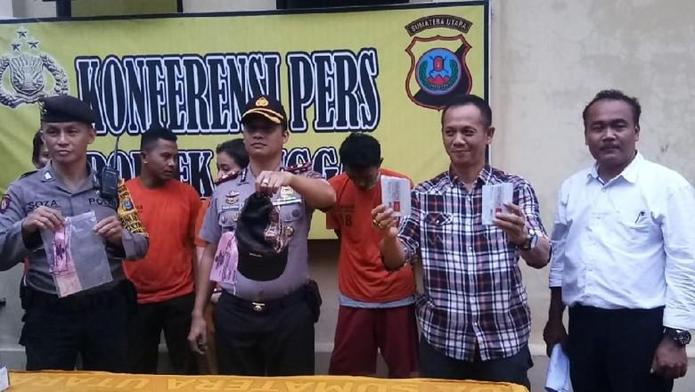 Curi Mobil Ayahnya di Sumut, Anak Bersama 4 Rekannya Ditangkap Polisi