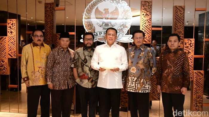 Foto: Ketua MPR Inisiasi Forum Aspirasi Papua-Papua Barat (Marlinda-detikcom)