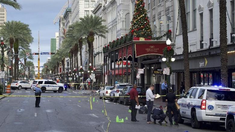 10 Orang Luka-luka dalam Penembakan di Area Wisata New Orleans