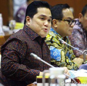 Lapor Kondisi Jiwasraya ke DPR, Erick Thohir: Sakit dan Kesulitan