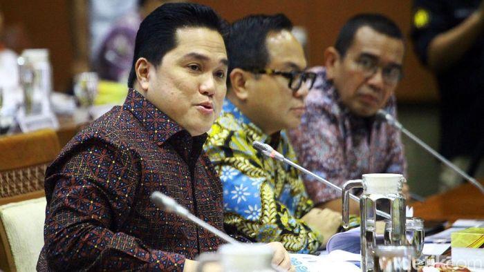 Menteri Badan Usaha Milik Negara (BUMN) Erick Thohir/Foto: Lamhot Aritonang