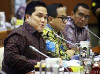 Erick Thohir Ancam Copot Bos Garuda soal Harley, Izin Usaha Jualan Online