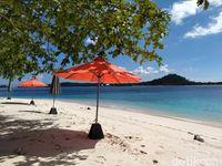 Pantai di Lihaga yang bikin jatuh cinta
