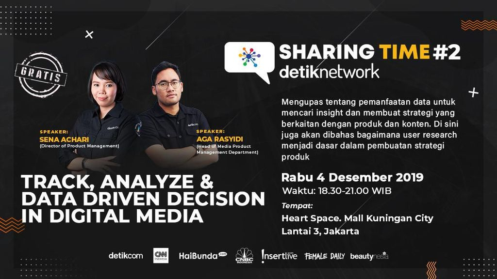 Event Gratis! Ngobrol Strategi Produk Pakai Data Digital