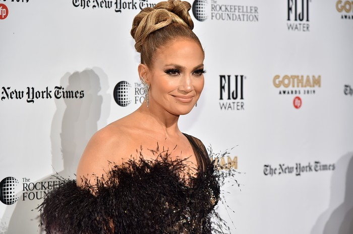 NEW YORK, NEW YORK - DECEMBER 02: Jennifer Lopez attends the IFPs 29th Annual Gotham Independent Film Awards at Cipriani Wall Street on December 02, 2019 in New York City. (Photo by Theo Wargo/Getty Images for IFP)