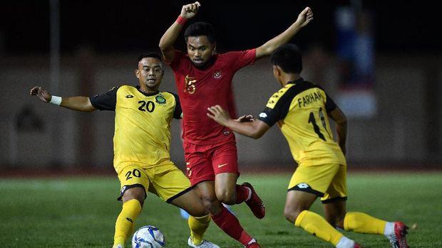 Kemenangan 8-0 atas Brunei membuka kans Indonesia lolos ke semifinal.