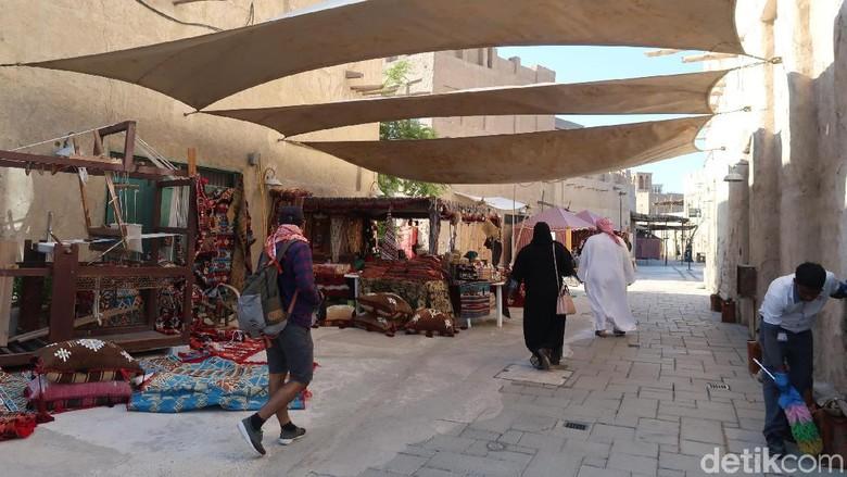 Al Seef, Kampung Aladdin dari Kota Dubai. (Foto: Bonauli/detikcom)