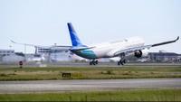 Dua Pesawat Garuda Berhadap-hadapan di Soetta, Begini Kejadiannya
