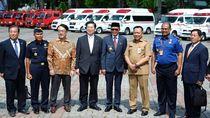 Kerja Sama dengan Jepang, Sulsel Terima 38 Unit Ambulans & Damkar