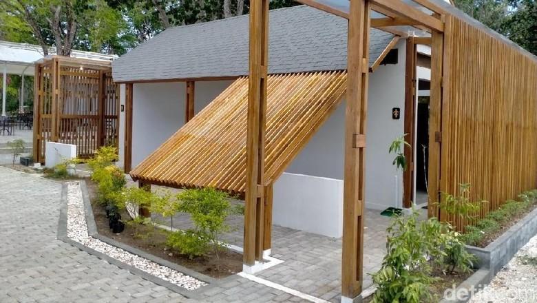 Toilet di Pulau Lihaga (Afif Farhan/detikcom)