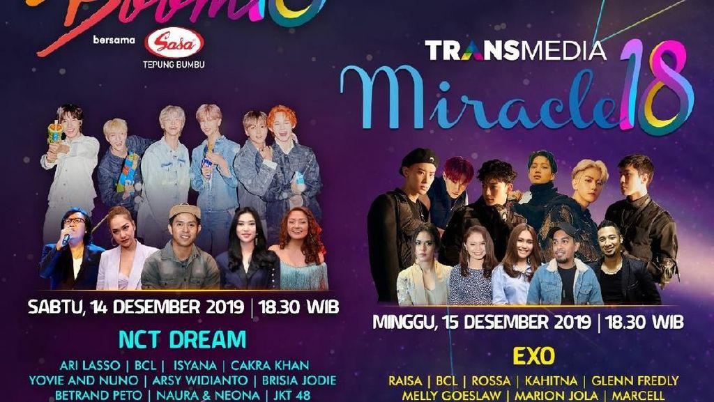 Bukan Cuma EXO dan NCT Dream, Transmedia Punya Sederet Artis Top di HUT ke-18