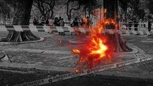 Ledakan Granat di Monas