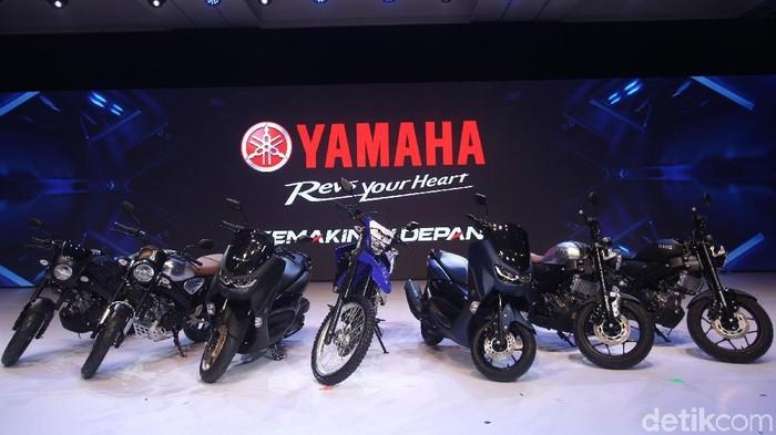 Yamaha Luncurkan XSR 155, WR 155R dan NMAX, Senin (2/12/2019).