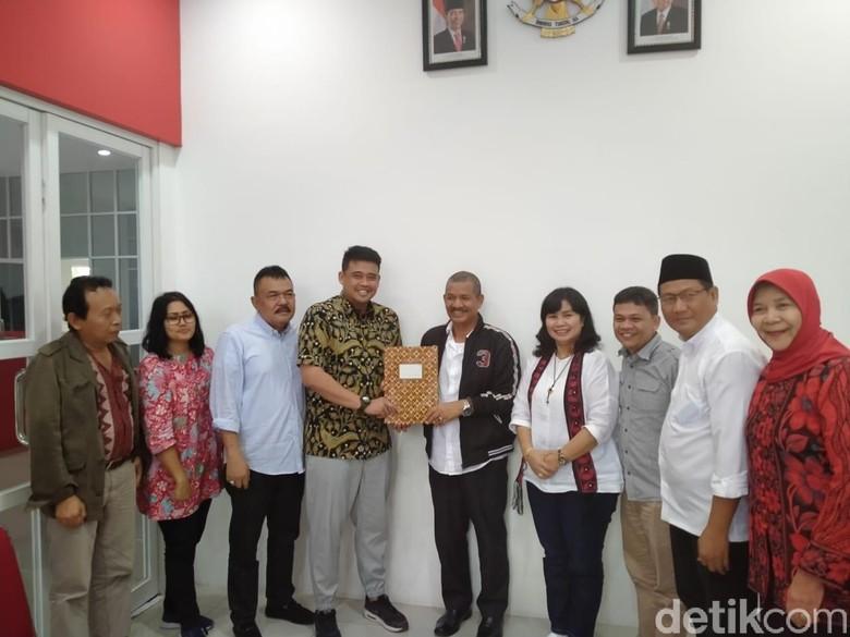 Menantu Jokowi Bobby Nasution Daftar Jadi Cawalkot Medan ke PDIP