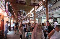 Pasar Emas Dubai dan Cincin Terbesar Dunia