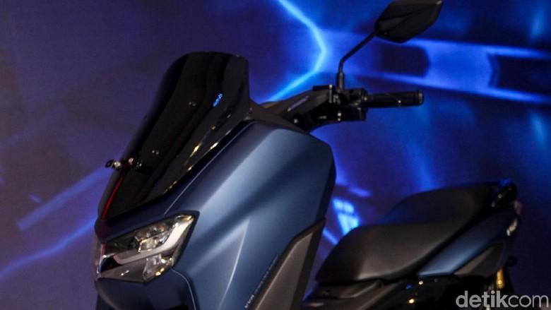 Yamaha bersiap menghadapi tahun 2020 dengan memperkenalkan New Yamaha NMAX di Kemayoran, Jakarta. Senin (2/12/2019). Motor yang dinanti-nanti perubahannya ini dibandrol dengan harga 30 jutaan.