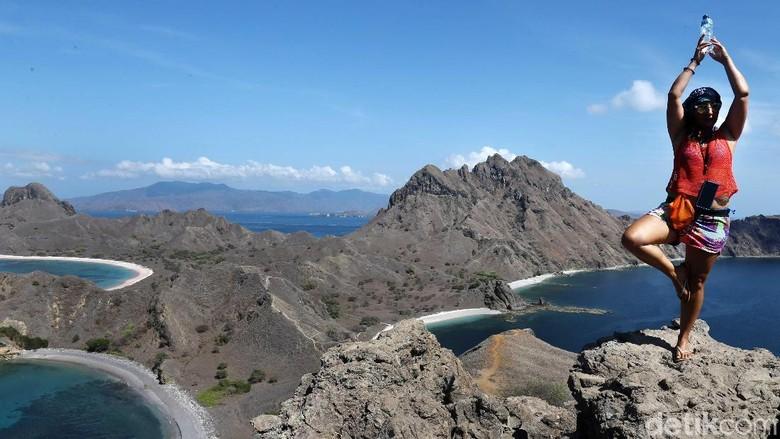Terpikat Indahnya Panorama Alam Pulau Padar