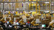 Nyaris 600 Karyawan Amazon Positif COVID-19