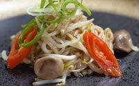 Resep masakan rumahan: tauge cah jamur.