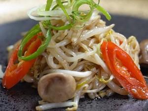 Resep Sayuran : Tauge Cah Jamur