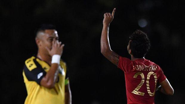 Timnas Indonesia berada di posisi kedua klasemen Grup B SEA Games 2019. (