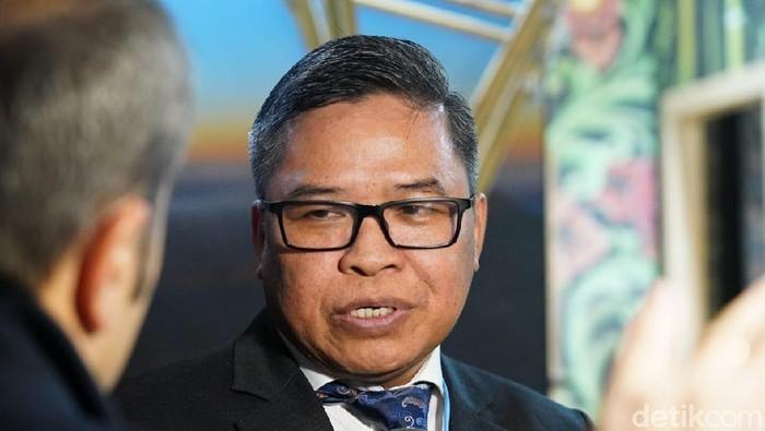 Wakil Menteri Lingkungan Hidup dan Kehutanan (LHK) yang juga Ketua Tim Delegasi RI Alue Dohong. (Foto: Mei Amelia/detikcom)