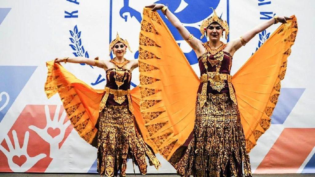 Semarak Indonesia Hangatkan Kota Kazan di Rusia