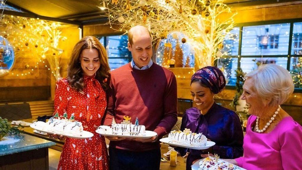 Jadi Bintang Tamu, Kate Middleton Masak Sajian Natal Bareng Mery Berry