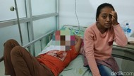 Jariyah yang Tak Bisa Lihat karena Mata Bengkak Dirujuk ke RSU dr Soetomo