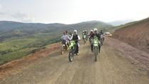 Dijajal Bupati Bermotor Trail, Ini Jalur Baru Wilayah Terisolir Seko Lutra