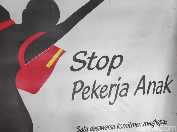 Foto: Ilustrasi stop pekerja anak (ist)