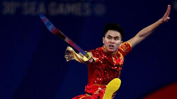 Edgar Xavier Marvelo meraih dua emas di SEA Games 2019.