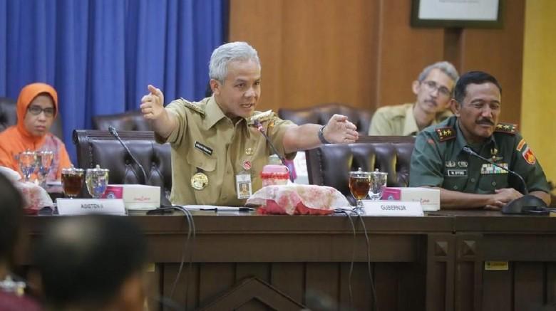 Pencemaran Bengawan Solo, Ganjar Deadline Perusahaan Perbaiki IPAL