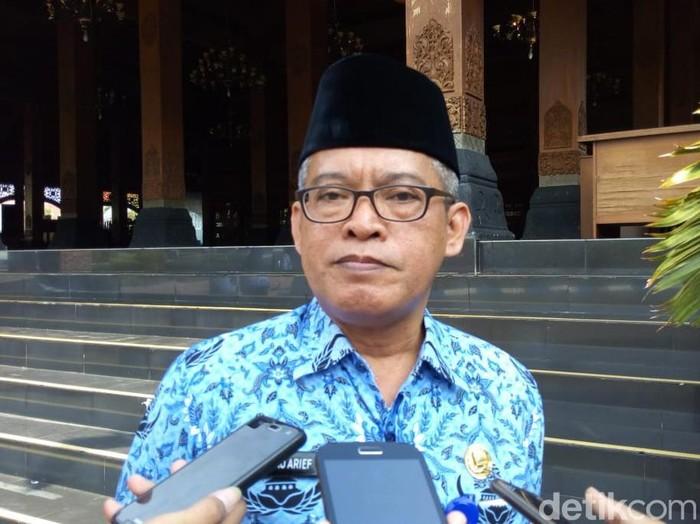 Kepala Badan Kepegawaian Pelatihan dan Pendidikan Daerah Ponorogo, Winarko Arief (Charolin Pebrianti/detikcom)