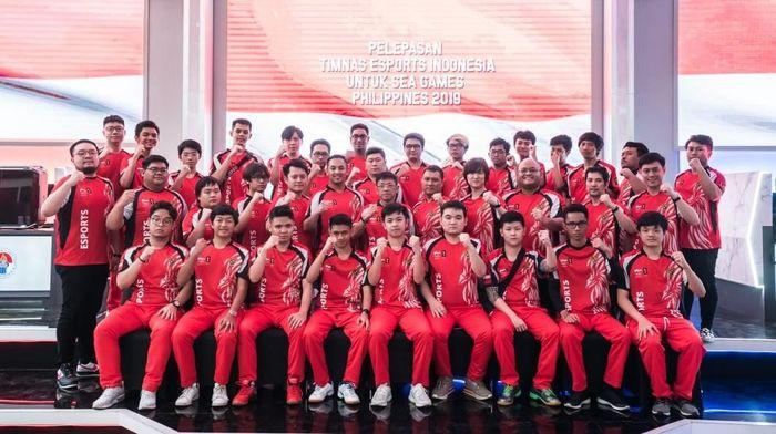 Timnas eSport Indonesia ditargetkan meraih dua emas di SEA Games 2019 (dok.eSport Indonesia)