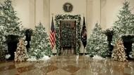 Melongok Dekorasi Natal 2019 di Gedung Putih Karya Melania Trump