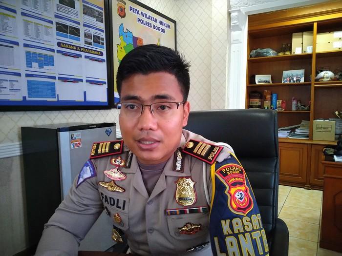 Kasat Lantas Polres Bogor AKP Fadli Amri (Sachril Agustin/detikcom)