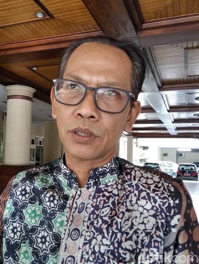 Ketua Komisi B DPRD DIY Danang Wahyu Broto, Selasa (3/12/2019). (Usman Hadi/detikcom)