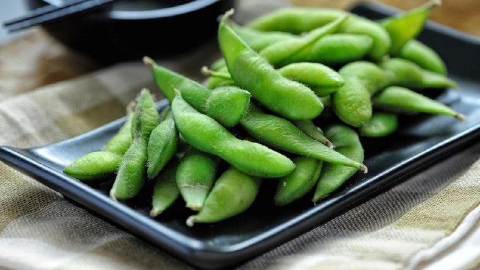 Edamame is one of the popular Japanese cuisine