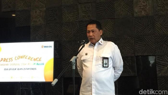 Direktur Utama Perum Bulog Budi Waseso (Buwas)