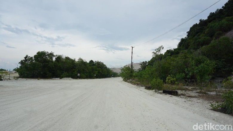 Area tambang granit (Foto: Tim detikcom)