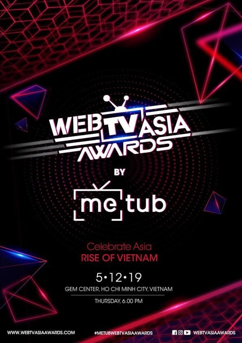 Foto: METUB WebTVAsia Awards 2019