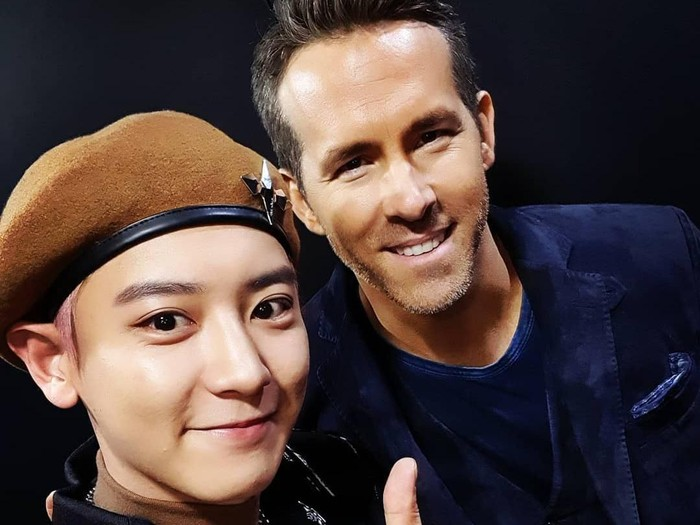 Chanyeol EXO dan Ryan Reynolds