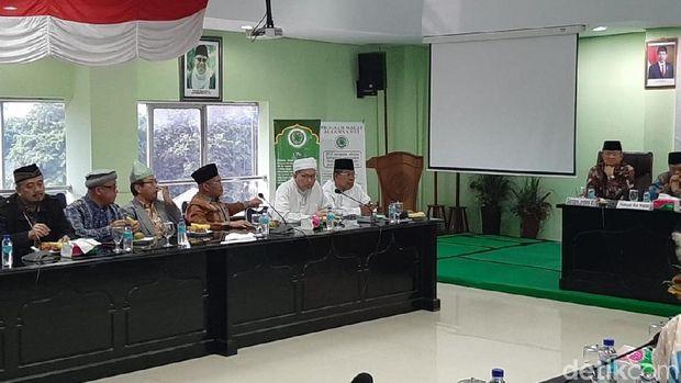 Pertemuan MUI dan pimpinan MPR dalam membahas amandemen UUD 1945