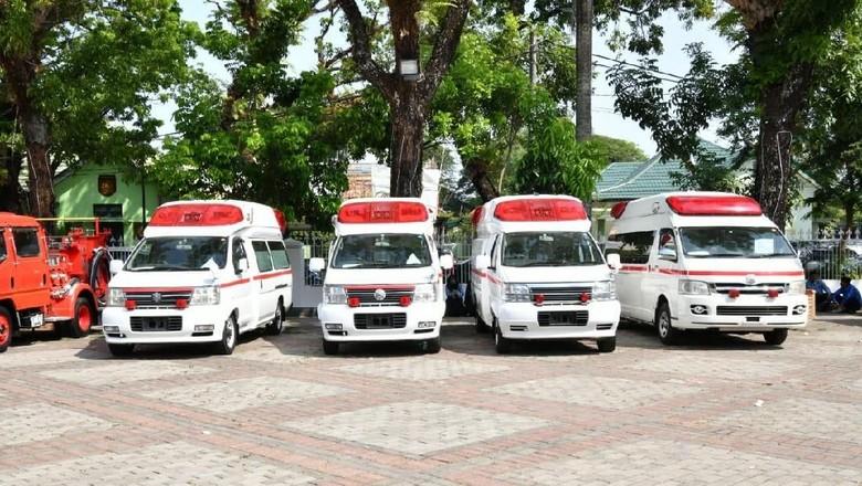 Pemprov Sulsel Terima Hibah Ambulans-Damkar dari Jepang