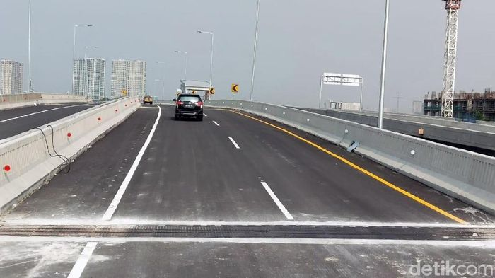Jalan Tol Japek Layang (Foto: Soraya Novika/detik.com)