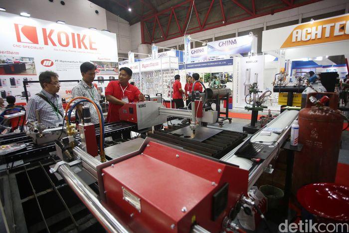 Pameran Manufacturing Indonesia berlangsung pada 4-7 Desember 2019.